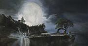 La Luna Bianca Print by Guido Borelli