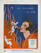 Nineteen-tens Art - La Marque De Feu  1910s France Cc by The Advertising Archives