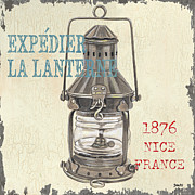 Nice Prints - La Mer Lanterne Print by Debbie DeWitt