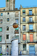 Exotic Metal Prints - La Panier district of Marseille France Metal Print by Juli Scalzi