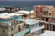 City Of San Juan Prints - La Perla District in Old San Juan Puerto Rico Print by Bryan Mullennix