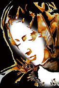 La Pieta Face By Michalengelo Print by Joe Espinoza