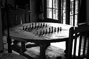 Chess Photo Prints - La Posada Game Room Print by John Nelson