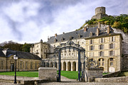 Eighteenth Century Framed Prints - La Roche Guyon Castle Framed Print by Olivier Le Queinec