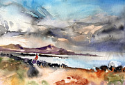 Lanzarote Paintings - La Santa in Lanzarote 02 by Miki De Goodaboom