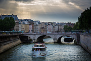 La Seine Print by Inge Johnsson