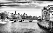 Union Bridge Prints - La Seine Print by John Rizzuto