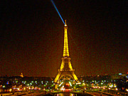 Tour Eiffel Photo Posters - La Tour Eiffel Poster by Al Bourassa