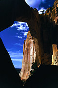 National Monuments Posters - La Ventana Rock Arch Poster by ABeautifulSky  Photography