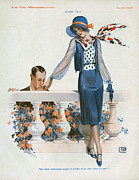 Nineteen-tens Art - La Vie Parisienne  1910s France Cc by The Advertising Archives