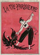 Nineteen-tens Art - La Vie Parisienne 1915 1910s France Cc by The Advertising Archives