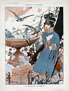 Featured Art - La Vie Parisienne  1916 1910s France Cc by The Advertising Archives