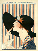 Nineteen-tens Art - La Vie Parisienne 1918 1910s France G by The Advertising Archives