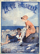 Featured Art - La Vie Parisienne  1919 1910s France Cc by The Advertising Archives