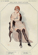 1920s Metal Prints - La Vie Parisienne 1920s France Gerda Metal Print by The Advertising Archives