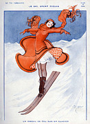 WomenÕs Art - La Vie Parisienne 1922 1910s France by The Advertising Archives
