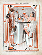Fragrances Art - La Vie Parisienne 1927 1920s France Cc by The Advertising Archives