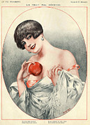 20Õs  Metal Prints - La Vie Parisienne 1927 1920s France Metal Print by The Advertising Archives
