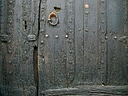 Old Door Pyrography - La Vieille Porte by France  Art