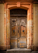 Arles Metal Prints - La Vieille Porte Metal Print by Inge Johnsson