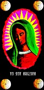 Iraq War Paintings - La Virgen 2012 by Michelle Wilmot