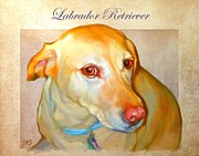 Labrador Art Print by Iain McDonald