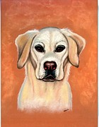 Labrador Retriever Pastels - Labrador Retriever Yellow by Olde Time  Mercantile