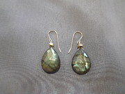 Featured Jewelry - Labradorite earrings by Jan Durand