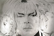 David Bowie Drawings - Labyrinth by Melvyn Thomas
