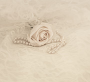 Necklace Photos - Lace and Promises by Kim Hojnacki