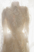 See-through Clothes Prints - Lace Upon Lace Print by Margie Hurwich