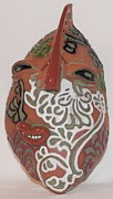 Rock Art Ceramics - Lacey by Susan Perry