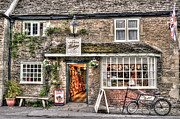 Window Signs Art - Lacock Bakery by Jan Carr
