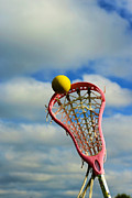 Girls In Pink Prints - Lacrosse In the Pink Print by Paul Ward