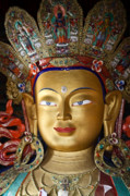 India Metal Prints - Ladakh Buddha Metal Print by Derek Selander