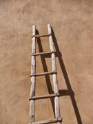 James R Granberry Posters - Ladder Poster by James Granberry