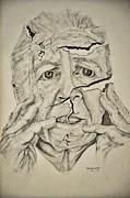 Lady Falling Apart Print by Glenn Calloway