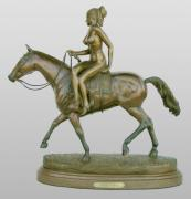 Detail Sculptures - Lady Godiva by Hugh Blanding