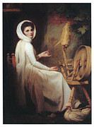 Romney Paintings - Lady Hamilton by George Romney