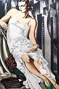 Tamara Lempicka - Lady in Lace