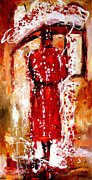 Elena Bissinger - Lady in red
