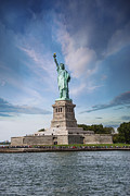 Historic Statue Photo Posters - Lady Liberty Poster by Juli Scalzi