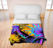 TeshiaArt - Lady Liberty NYC - Duvet...