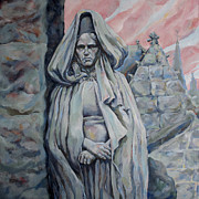 Breton Paintings - Lady Of Breton by Derrick Higgins