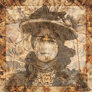 Lay Digital Art - Lady of the Leaves by Judy Wood