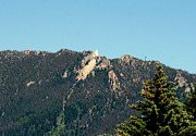 Virgin Mary Pyrography Metal Prints - Lady of the Rockies Butte Montana Metal Print by Larry Stolle