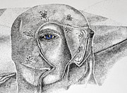Stippling Originals - Lady of the Sand Dunes by Frank Williams