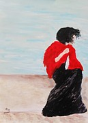 Marie Bulger - Lady on Wendt Beach