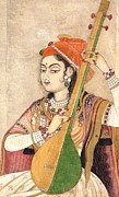 REPRODUCTION - Lady Playing The Tanpura