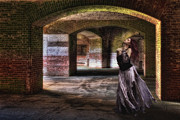 Brick Walls Photos - Lady Starstruck by Jeffrey Campbell